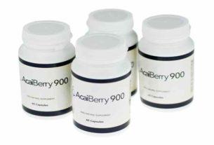 Tabletki na odchudzanie Acai Berry 900