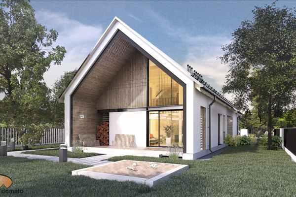 Ponadczasowe piękno minimalizmu w projekcie nowoczesnej stodoły